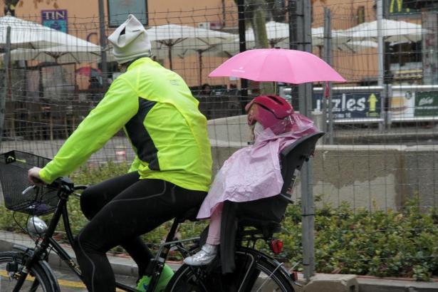 Regen-Szenen wie auf diesem Archivfoto konnte man in den vergangenen Monaten auf Mallorca kaum beobachten.