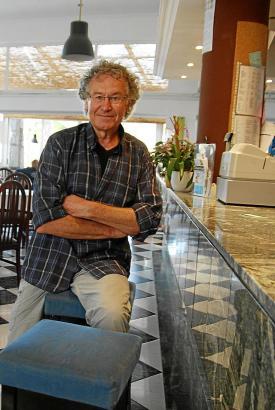 Frank Wargalla ist ein Großstadtmensch, aber Mallorca lässt ihn nicht los. Hier verbringt er insgesamt rund 120 Tage im Jahr.