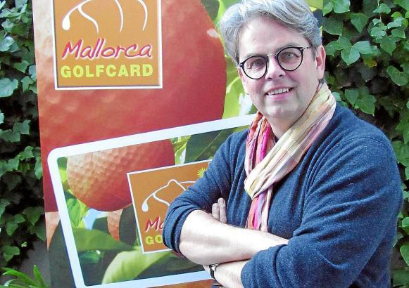 Michael Jacoby geht mit seiner Mallorca-Golfcard ins achte Jahr.
