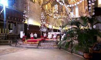 Deutscher Weihnachtsgottesdienst 2015 in der Kathdrale von Palma.