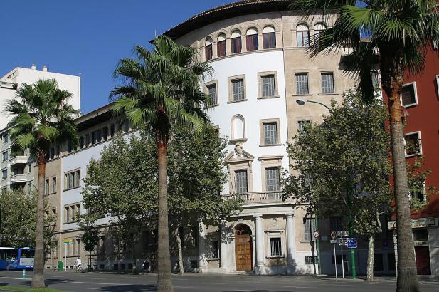 Die Deutsche musste sich einer richterlichen Anhörung in der Vía Alemania in Palma de Mallorca stellen.