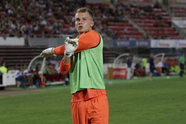 Rettete Mallorca einmal mehr einen wichtigen Punkt: Der deutsche U19-Torhüter Timon Wellenreuther.