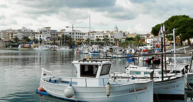 Auch der Hafen von Cala Ratjada ist gut gefüllt