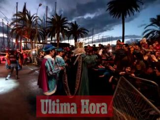 Der Drei-Königs-Umzug 2016 in Palma