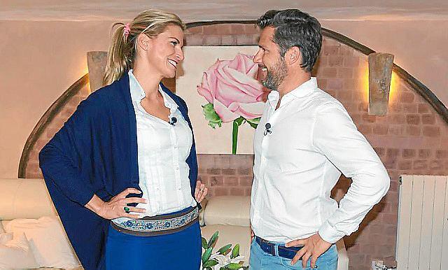 Maklerin Barbara de Matos & Makler Daniel Klein in Aktion.