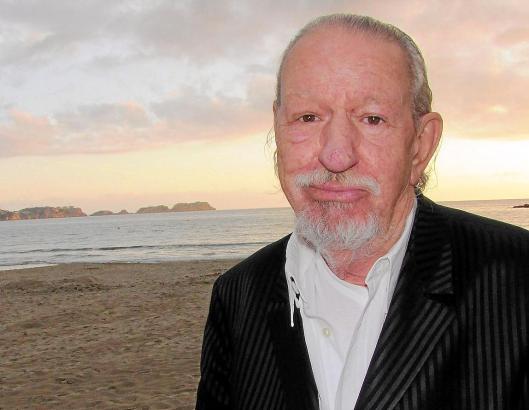 Damals hatte er Mallorca gerade wiederentdeckt: Peter Kroll-Vogel Ende 2012 am Strand von Peguera.