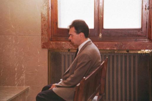 Rüdeger Oyntzen während der Gerichtsverhandlung 1998 in Palma.