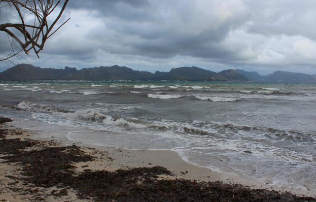 Das Wetteramt warnt vor stürmischer See an diesem Wochenende