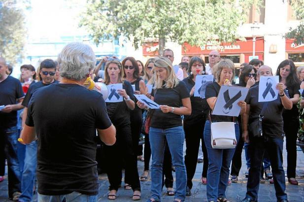 Immer wieder gingen öffentlich Beschäftigte in den vergangenen Jahren auf die Straße, um gegen die Kürzungen auf Mallorca und se
