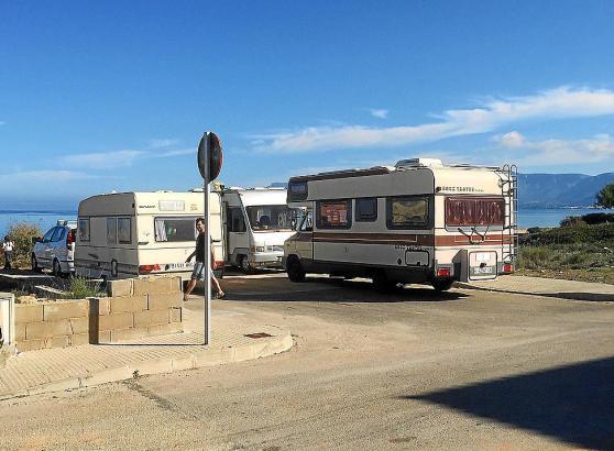 Die Zahl der Wohnmobile in Son Serra im Norden von Mallorca soll beschränkt werden.