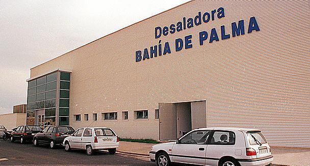 Die Meerwasser-Entsalzungsanlage in Palma.