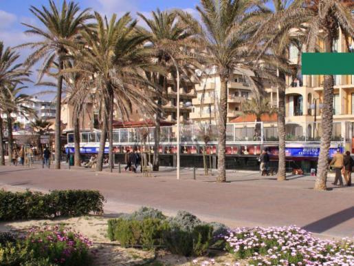 Urlaubermeile Playa de Palma.