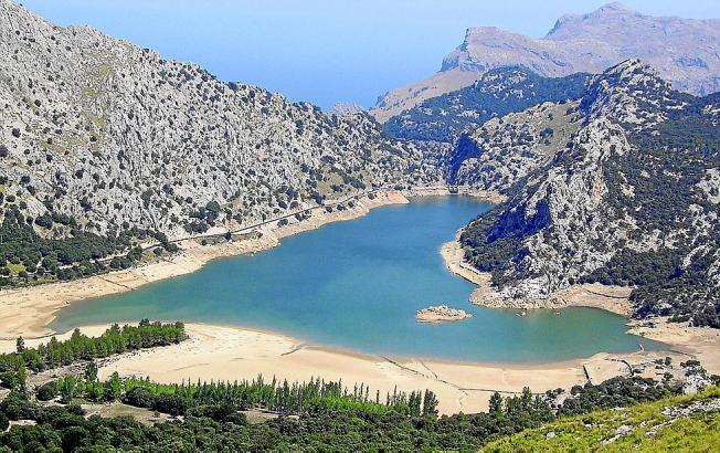 Mallorcas Stauseen sind derzeit nur zu 28 Prozent gefüllt.