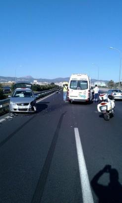 Auf der Flughafenautobahn von Palma de Mallorca stieß der Geisterfahrer mit einem anderen Auto zusammen.