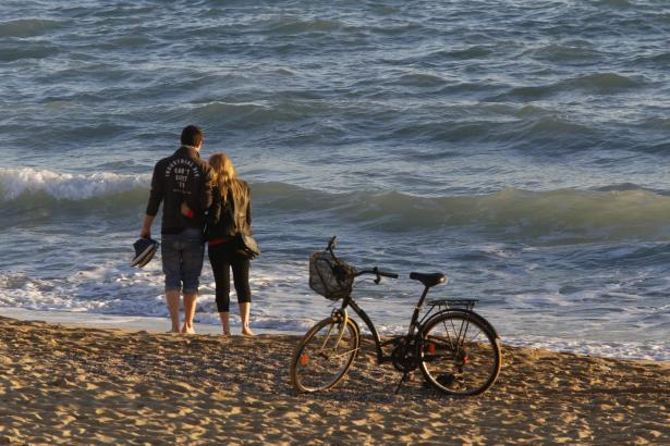 Frühlingshaft warm war es auf Mallorca am 1. Februar.