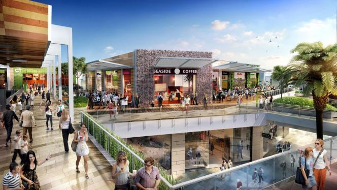 """So oder so ähnlich könnte es bald im """"Fan Mallorca Shopping""""-Zentrum aussehen."""
