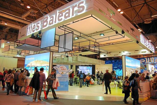 Auch auf der Tourismusmesse Fitur in Madrid wurde viel Werbung für die Balearen gemacht.