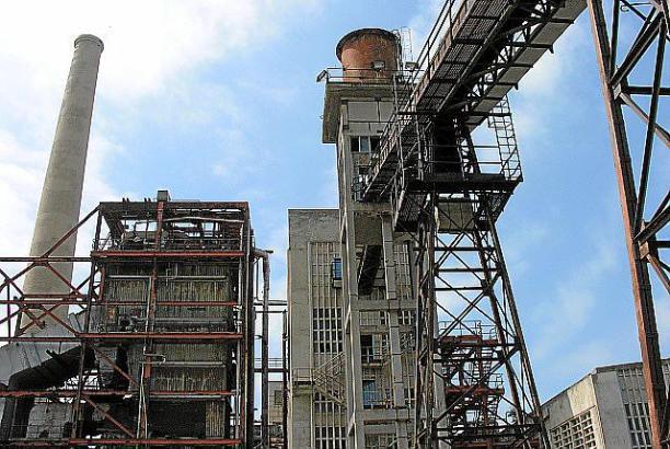 Schon seit den 1990er Jahren ist das Elektrizitätswerk in Alcúdia außer Betrieb.