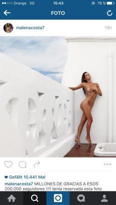 Mallorcas Top-Modell Malena Costa.