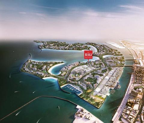 Das Riu-Hotel soll auf einer der Deira-Inseln entstehen.