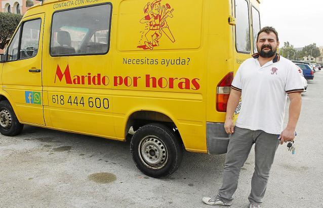 """Pablo Wiecek ist der """"Marido por horas"""" (Ehemann für Stunden)"""