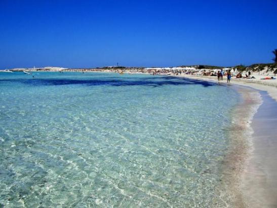 """""""Ses Illetes"""" auf Formentera. Für Tripadvisor-User der schönste Strand Europas.."""