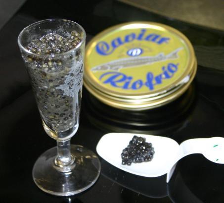 Der Kaviar von Riofrio ist auch auf Mallorca beliebt.