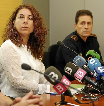 Werden wohl keine Freunde mehr: Sicherheitsdezernentin Angélica Pastor und Polizechef Antoni Morey.
