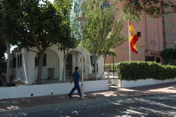Die Wache der Guardia Civil in Palmanova im Südwesten von Mallorca.