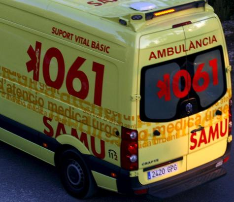 Das vierjährige Mädchen wurde bei seinem Sturz schwer verletzt.
