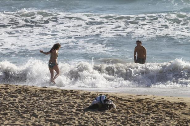 Bald kann an den Stränden von Mallorca wieder geplanscht werden: Der Frühling soll sonnig und warm werden.