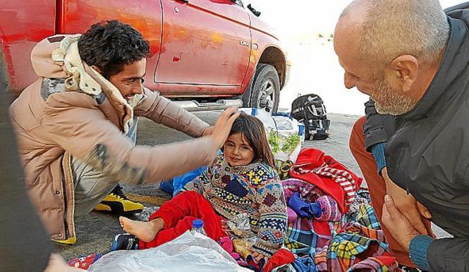 Miquel Ensenyat erlebte auf Chios die Ankunft von Flüchtlingen. Er will von Mallorca aus Hilfe leisten.
