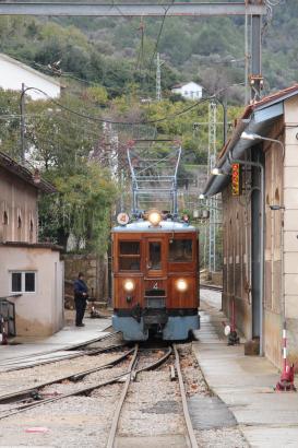 Der Sóller-Zug muss behindertengerecht umgebaut werden.