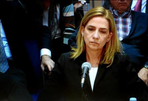 Prinzessin Cristina vor Gericht auf Mallorca.