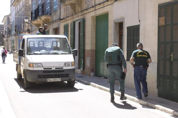 Am Schauplatz des Geschehens auf Mallorca.