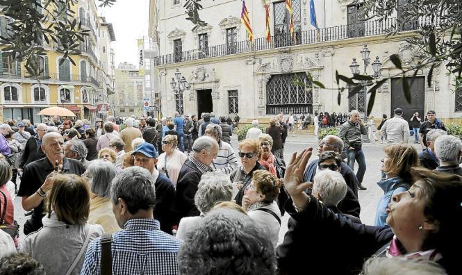 Noch nie ist die Nachfrage nach Hotelplätzen in Palma de Mallorca so hoch gewesen, wie in diesem Jahr.