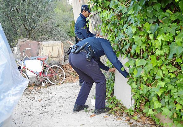 Der mutmaßliche Tatort auf Mallorca wurde von der Polizei in Augenschein genommen.