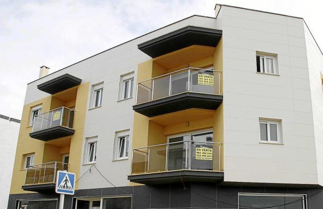 Leerstehende Wohnungen auf Menorca.