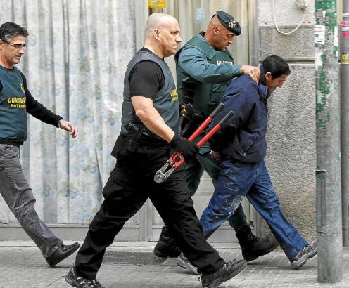 Carlos Tomás A. wurde im Februar dem Haftrichter vorgeführt.