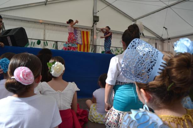Ihr Können im Flamenco-Tanzen stellten die Kinder aus Capdepera unter Beweis