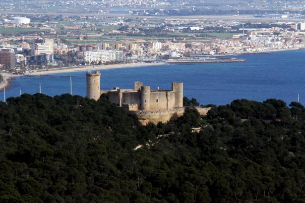 Die Burg von Bellver ist eines der Wahrzeichen von Palma und Mallorca.