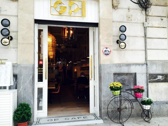 Das GP-Café am Borne gehört zu einer russischen Gruppe.