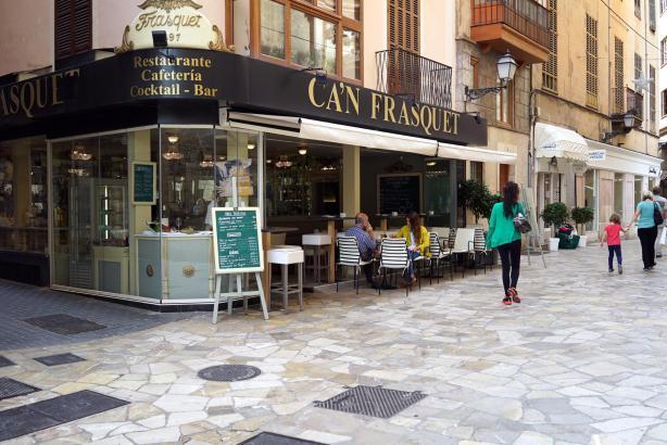 Im Can Frasquet in Palmas Altstadt gibt es auch einen Mittagstisch.