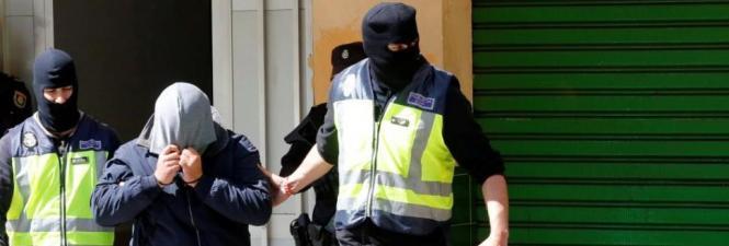 Mohammed H., hier bei seiner Festnahme am Dienstag, kommt in Untersuchungshaft.