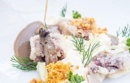 """Im """"Aromata"""" wird mittags und abends raffinierte Mittelmeerküche serviert."""
