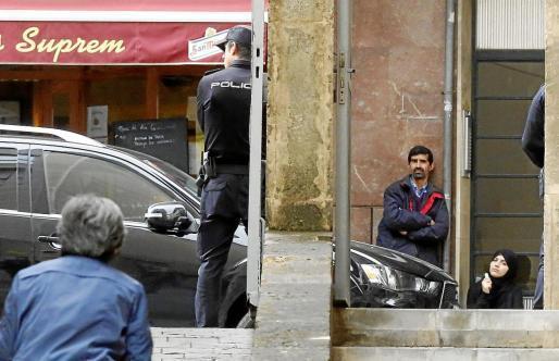 Der mutmaßliche IS-Anhänger musste sich in den vergangenen Tagen vor den Richtern auf der Vía Alemania in Palma de Mallorca vera