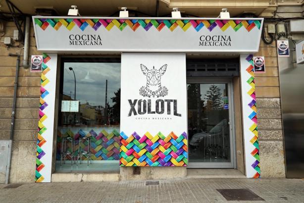 Typisch mexikanische Küche gibt es im Xolotl an der Plaça del Progrés in Santa Catalina.