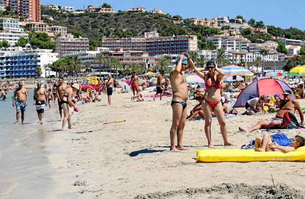 Im Sommer gibt es auf Mallorca kaum einsame Strände