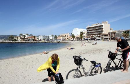 Frühjahrsimpressionen aus Palmas Meeresstadtteil Portitxol