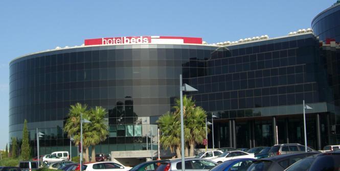 Das Firmengebäude auf Mallorca.